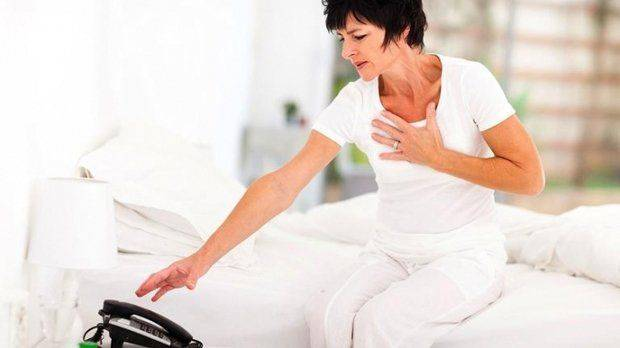 Признаки прединфаркта у женщин