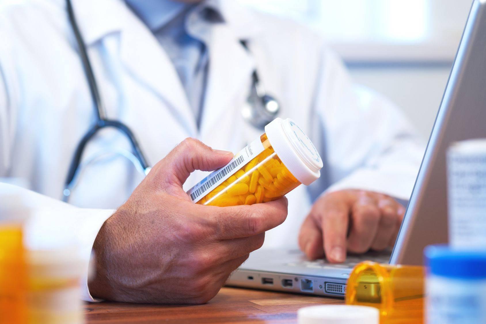 Лекарства у врача