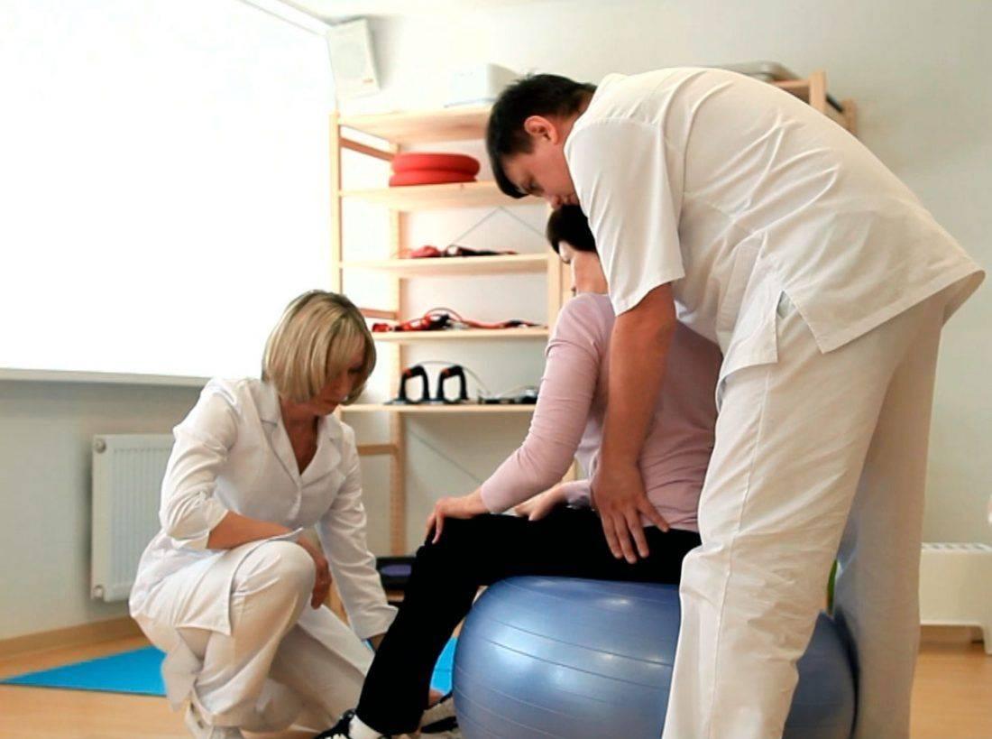 Упражнения с пациентом